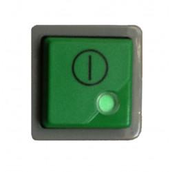 Interrupteur bipolaire 250v 16a 28X28 mm