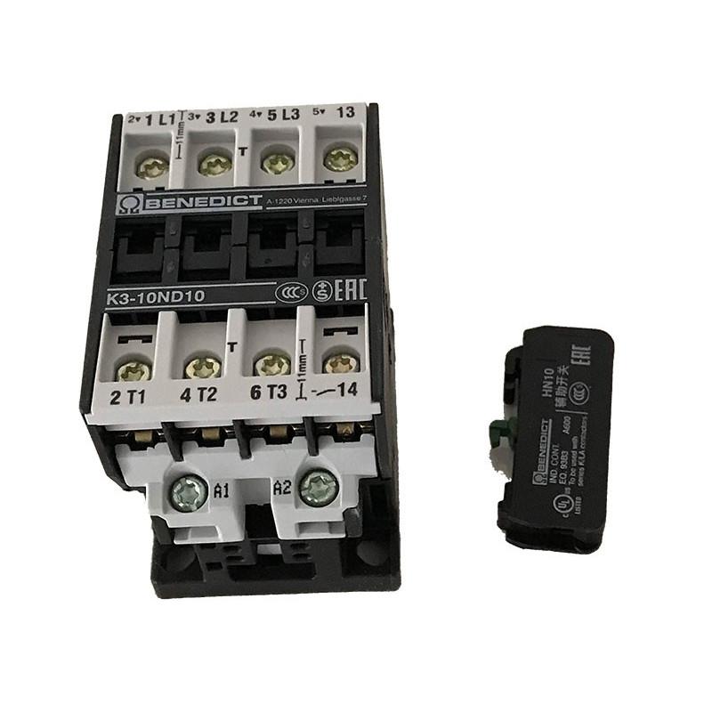 Contacteur B&J K3-10A 10-EUR-190