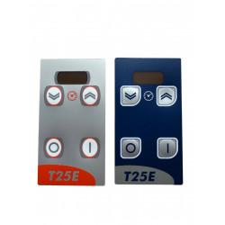 0D7138-Plastron de façade éplucheuse T25E