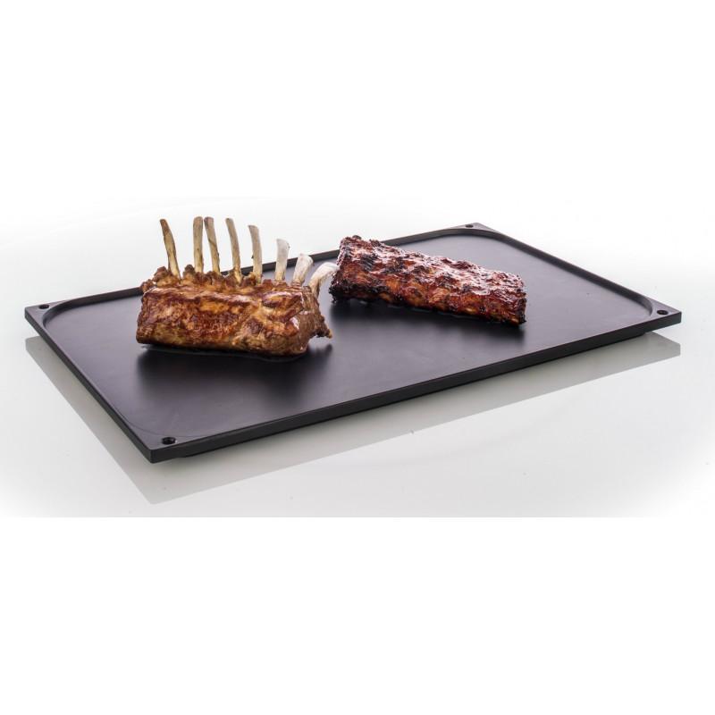 Plaque à griller et à rôtir coté grill